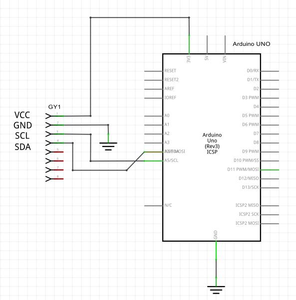 GY-521_Schema_Arduino